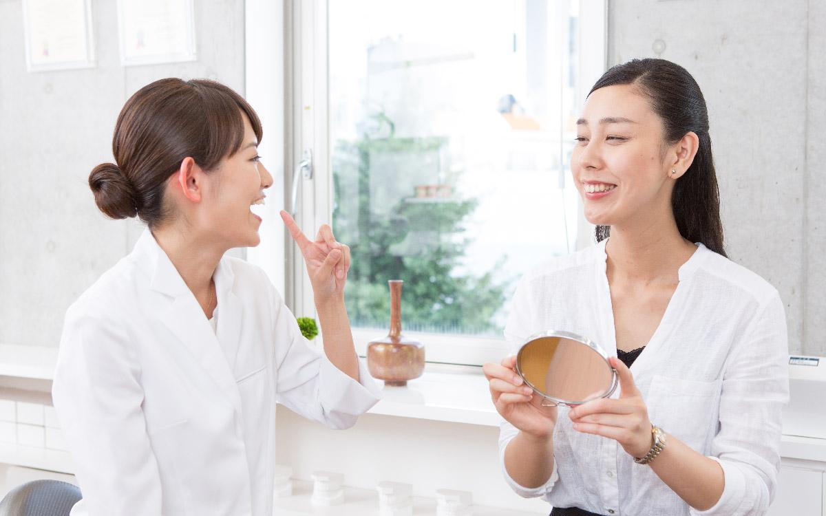 画像:歯並びに影響する癖の改善(MFT)